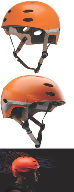 Other Water Sports 159151: Limited Edition Protec Water Helmet Retro Orange - Size:L - Kite - Wake - Kayak BUY IT NOW ONLY: $35.99