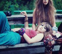 alone, beautiful, blond, cigarette Hippie Love, Hippie Bohemian, Boho, Hippie Girls, Favim, Festival Party, Best Mom, Peace And Love, Hipster