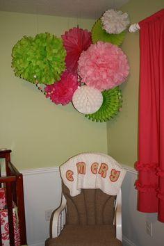 Savannah's Big Girl room decor