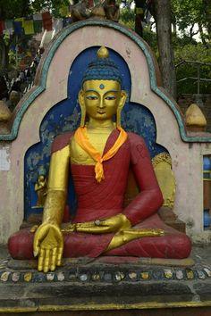 Buddha   Swayambunath stupa Kathmandu  #Buddha #Budhism #Travel