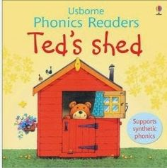 Ted's Shed, intro to phonic book for toddlers