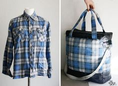 Upcycled shirt - love it!