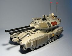 """""""United Earth Federation Ground Arm - M61B3 Main Battle Tank"""" by FateHeart: Pimped from Flickr"""