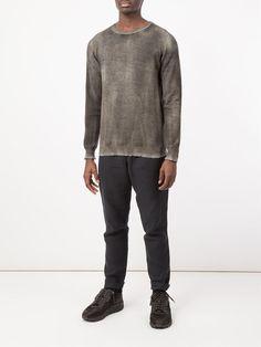 Avant Toi distressed sweater