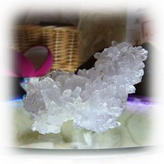 "A Himalaya amethyst flower like a Terrier - crystal, an angel, and healing one-house house"" Crystal Garden Mejiro """