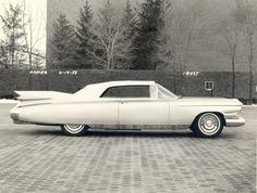 OG | 1959 Cadillac Eldorado Biarritz Mk4 | Full-size prototype dated Feb. 1958
