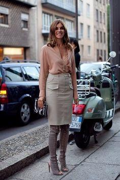 Как одеваться стильно в 40+? На первом плане женственность : instylewithanna