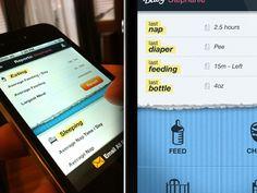 Dribbble - iPhone App UI by Josh Hemsley