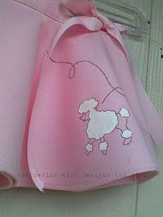 Mini Poodle Skirt