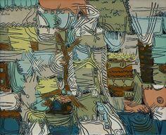 Sgraffito Landscape by Walter Batiss