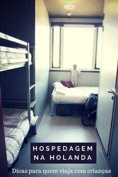 Sabia que muitos hostels não permitem a hospedagem de menores, mesmo com os pais?  Veja como não passar por dificuldade ao procurar uma hospedagem na Holanda.