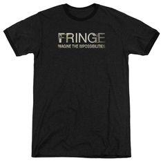 Fringe Fringe Logo Black Ringer T-Shirt