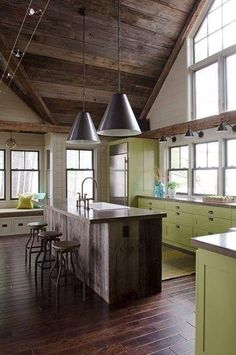 painted meets rustic
