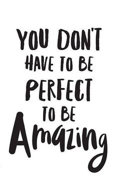 and yet you are perfect