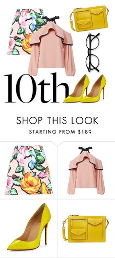 """""""Celebrate Our 10th Polyversary!"""" by novaerlyta ❤ liked on Polyvore featuring Love Moschino, Alexis, Christian Louboutin, Mulberry, polyversary and contestentry"""