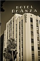Turn of the century historic hotel de anza in downtown san jose- oldest hotel in the city
