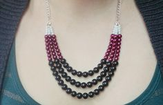 Statement DIY Necklace with Beads | http://diyready.com/diy-necklaces-diy-jewelry/