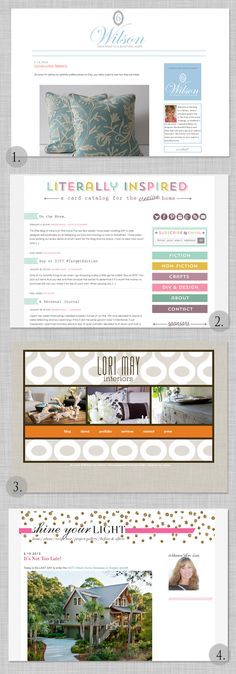 Custom Blogger and Wordpress designs by TMC Designs