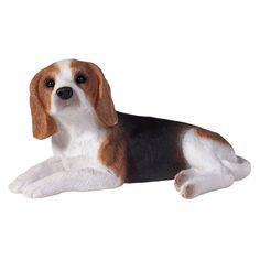 Sandicast Small Size Beagle Sculpture - SS00903