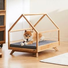 Choosing the right dog kennels must be adjusted to your needs, because dog cages are made to vary, ranging from the size, type of material, and also the Animal Room, Animal House, Dog Cages, Pet Dogs, Pets, Wood Dog, Dog Furniture, Dog Rooms, Cat Room