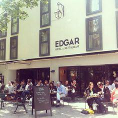 Edgar - Terrasse