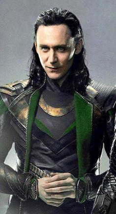 Loki, I'm liking the longer hair. Best Bad Guy Ever