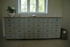 Great storage for a Beach house lovely weathered driftwood paint effect