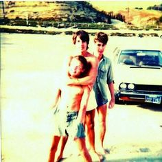 Hillel, Anthony and Flea.