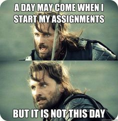 Not this day... #LOTR #AragornInspirationalSpeech #Meme