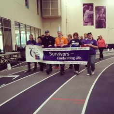 Survivor Walk  UST Relay For Life 2013