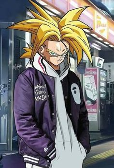 Image result for trunks supreme