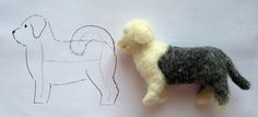 make a mini dog. tutorials not in English - but good pictures