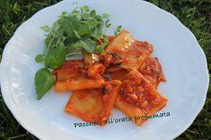 Una ricetta facilissima da preparare in poche mosse e dal gran sapore! Paccheri all'orata profumata! #pesce #ricettafacile <3