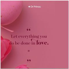 Let everything you do be done in Love. Everything, Let It Be, Love, News, Movie Posters, Amor, Film Poster, Popcorn Posters, Film Posters