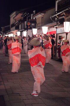 おわら風の盆 the Bon festival dance in Toyama JAPAN