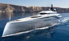 Oceanco reveals 107m superyacht concept 'Stiletto' at DIBS 2015…