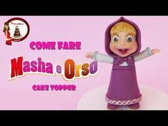 Come fare Masha in pasta di zucchero - YouTube
