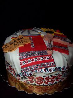 Imagini pentru TORTURI BOTEZ CU MOTIVE TRADITIONALE Marriage, Popular, Traditional, Romania, Desserts, Folk, Cakes, Google, Valentines Day Weddings