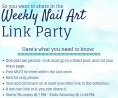 The Sparkle Queen: Best Of: Nail Art {Weekly Link Party}