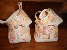 Baskets made from pattern by ayumills