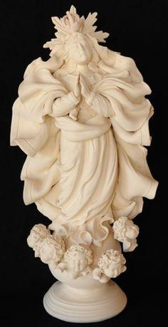 Santas - Atelier do Netinho Esculturas em Cerâmica - Atelier do Netinho Santeiro - Esculturas em Argila