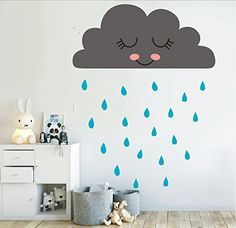 Co Sleeper Attach To Bed - M$M shop Cute clouds and rain, decals, vinyl wall stickers, Nursery decorations.(gray) ** Continue to the product at the image link. (This is an affiliate link) #CoSleeperAttachToBed