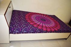 Indian Decor Mandala Tapestry Wall Hanging Hippie Throw Bohemian Twin Bedspread #Unbranded #Traditional