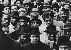 View Black Muslim Rally, Harlem, New York by Gordon Parks on artnet. Browse more artworks Gordon Parks from Jenkins Johnson Gallery. Gordon Parks, Phoenix Art Museum, Park Photography, Vintage Photography, White Photography, School Photography, Photography Gallery, Park Photos, Documentary Photography