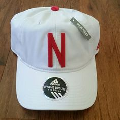 Nebraska Hat Nebraska Hat. Adjustable in size. NWT Adidas Accessories Hats