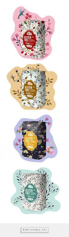 Allis Gluten Free Flour Packaging by Maison D'Ideev   Fivestar Branding – Design and Branding Agency & Inspiration Gallery