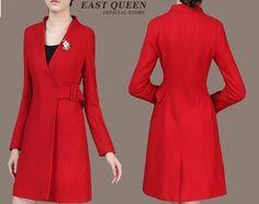 DIY - molde, corte e costura - Marlene Mukai Coat Patterns, Sewing Patterns Free, Free Pattern, Top Coat, Dressmaking, Mens Suits, Diy Clothes, Ideias Fashion, Wrap Dress