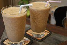 Coffee Peanut Butter Breakfast Smoothie: Best smoothie EVER!!!
