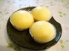 フライパンで簡単♪ふわふわ蒸しパン Sweets Recipes, Baby Food Recipes, Cooking Recipes, A Food, Food And Drink, Steamed Cake, Cooking Bread, Homemade Sweets, Japanese Food