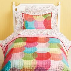 Kaleidoscope Circles Bedding